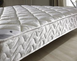 White Mattress Fabric