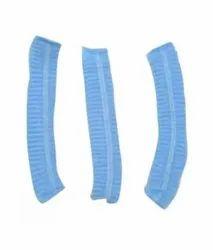 Blue Non Woven disposable buffon cap, Quantity Per Pack: 100