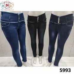 Women Regular Fit Denim Stretch Jeans