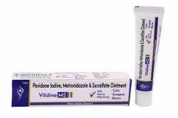 Povidone Iodine,Metronidazole & Sucralfate Ointment