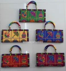 Embroidered Fashion Ladies Handbags For Return Gift