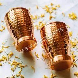 Copper LASSI Shape Designer Glass Utensil Drinkware Best for Home & Office Decoration & Gift Purpose