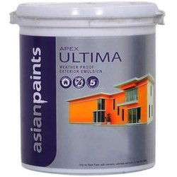 High Gloss Emulsion Asian Paints Apex Ultima, For Interior, Packaging Type: Bucket