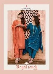 Rangoon Royal Touch Vol 2 Pure Bemberg Lucknowi Work Readymade Suit Catalog