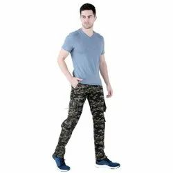 Trendsetter Army Printed Relaxed Fit Cargo Pants for Men (Dori Style)