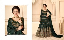 Party Wear Unstitch Pure Silk Designer Work Salwar Kameez