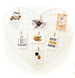 Trendy heart shaped (clip style)