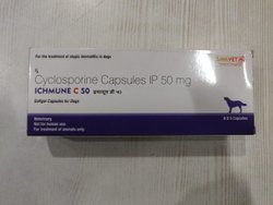 Cyclosporine ( ICHMUNE C 25 MG & 50mg& 100mg CAP)