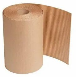 Plain Brown Corrugated Paper Roll, For Packaging, Paper Size: 10 Inch