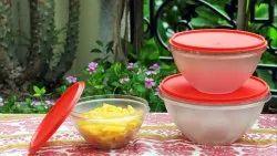 Gluman Blue Polycarbonate Bowls, For Home, Set Contains: Set Of 4