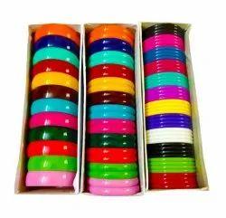 Round Plain Ladies Designer Coloured Bangle