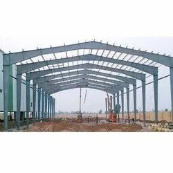 Steel Prefabricated Factory Shed