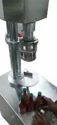 Unisource Stainless Steel Automatic Jar Capping Machine, Capacity: 10 Ppm