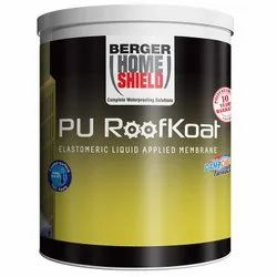 Liquid White Berger Home Shield PU RoofKoat, For Roofs, Packaging Size: 20 L