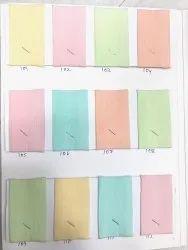 Chinon Chiffon Dyed Fabric