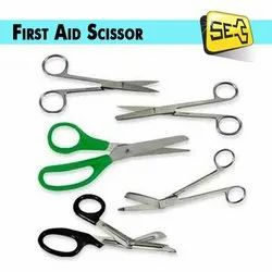 First Aid Scissor, Packaging Type: Packet