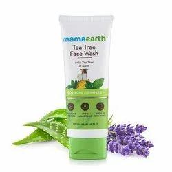 Mamaearth Tea Tree Facewash For Acne & Pimples, 100ml (Mrp249)