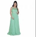 White Girl Party Wear Gown