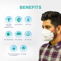 Suchi Disposable N95 7400 Anti Pollution Masks, Number Of Layers: 6