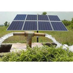 5 Hp Ac 4800 Wp Tata Solar Irrigation Water Pump