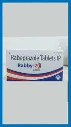 Rabeprazole  Sodium  Domperidone    20 mg 10 mg
