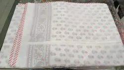 Cotton Textile Hand Block Printed Dohar