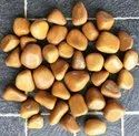 Tumbled Polished Camel Agate Semi Precious Pebbles, For Decoration, Interior, Dimensions: 15-40mm