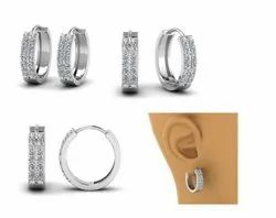 Talento Jewels Ladies Party Sterling Silver Earring