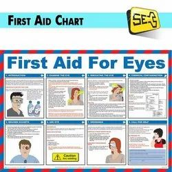 Laminated Sheet First Aid Chart, Packaging Type: Packet