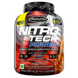 Muscletech Nitro Tech Power 4lbs (1.81Kg)