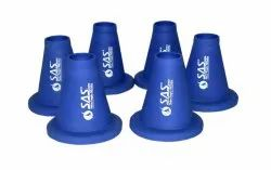 SAS PVC Cricket Batting Tee - Blue