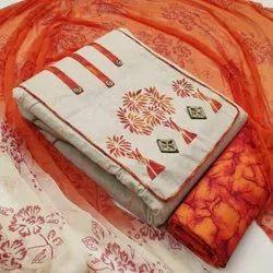 Uniquetreand Cotton Ladies Dress Material