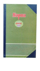 Sapna Hard Bound Legal Size Register, For College, Size: 13.5x8 Inch