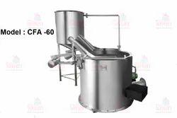 Circular Batch  Fryer Machine