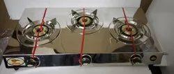 Lpg 3 Burner Gas Stove, For Kitchen, Model Name/Number: Nova 3b