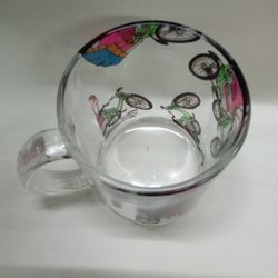 Printed Glass Cup
