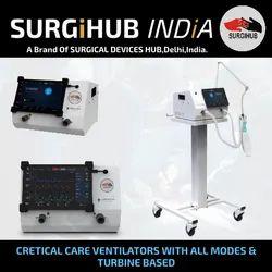 ICU Ventilator Noccarc Surgihub, Tidal Volume: 50-2000 Ml
