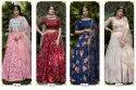 Shubhkala Girly Vol-9 Silk Crape Party Wear Lehenga Choli Catalog