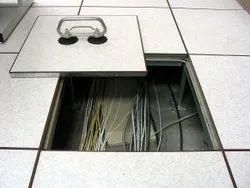 Cavity False Flooring, For Server Room,It Room, Size: 600*600 Mm