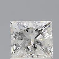 Princess 1ct H VS2 GIA Certified Natural Diamond