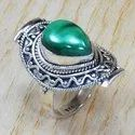925 Sterling Silver Unique Jewelry Turquoise Gemstone Ring SJWR-708