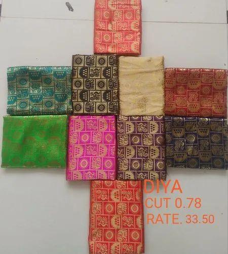 Diya Jacquard Blouse Fabric