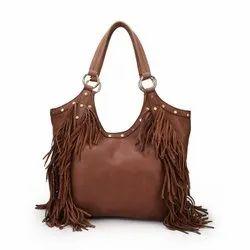 Shoulder Bag Fashionable Leather Ladies Handbag, For Casual Wear