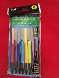 Polymer Mechanical Pencils Set, For Writing, Packaging Size: 8