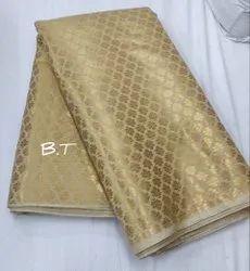 Golden Banarasi Fabrics