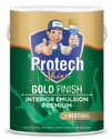 Protech Shine High Gloss Gold Finish Interior Emulsion Premium, Packaging Type: Can