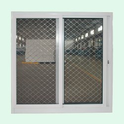 Aluminium Wire Mesh Fixed Window