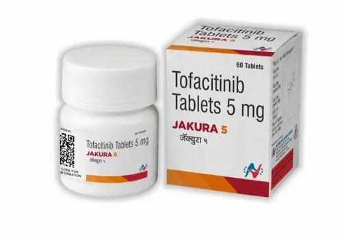 JAKURA 5MG Tablets Tofacitinib 5mg ( Hetero Health Care)