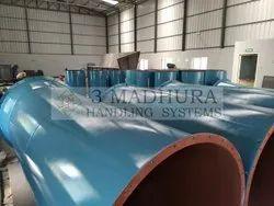 3 Madhura Round Air Duct For Bag Filter, Air Capacity: 1000 Cmh