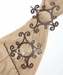 Fibulas Design Wooden Curtain Tie Backs